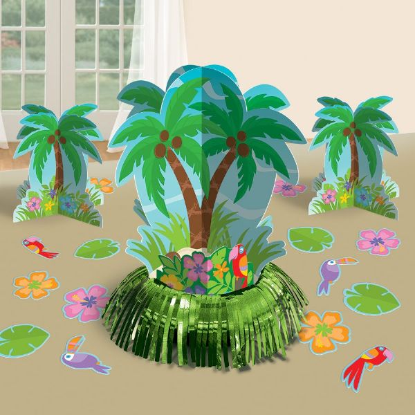 Hawaiian Table Decorating Kit